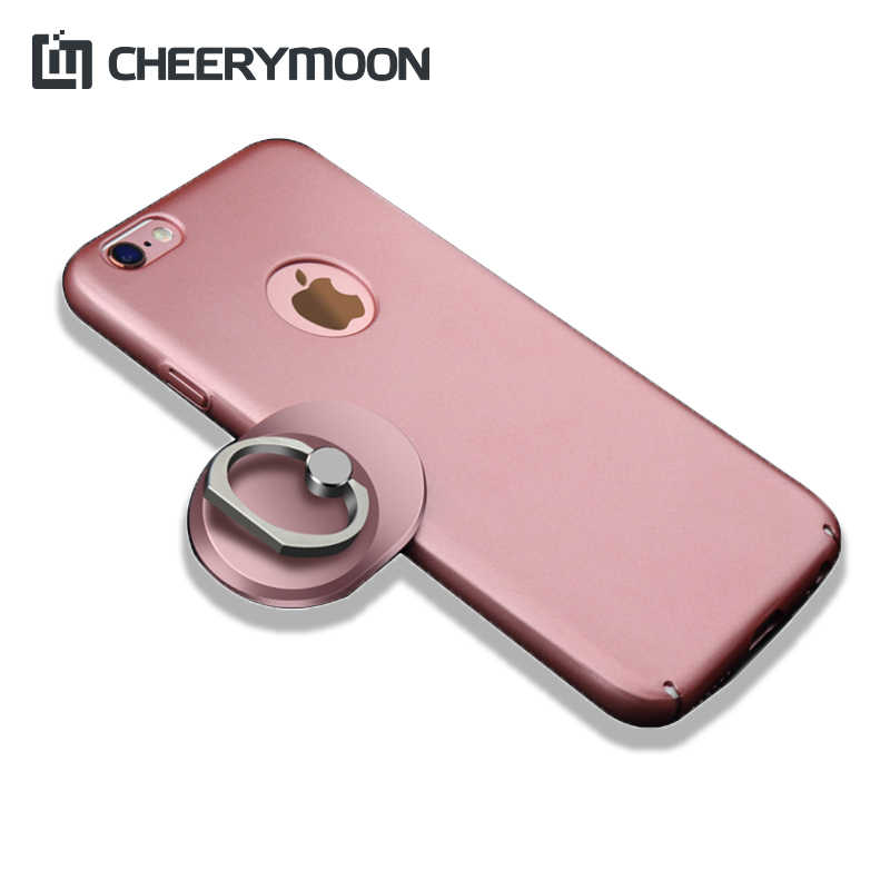 CHEERYMOON Rectangular Series Luxury Finger Ring Universal Stand Holder Fit For iPhone Smartphone Without RetailBox With Gift