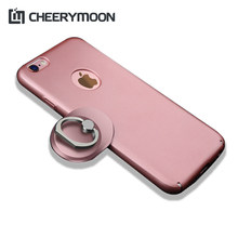 CHEERYMOON Rectangular Series Luxury Finger Ring Universal Stand Holder Fit For iPhone Smartphone Without RetailBox With Gift(China)