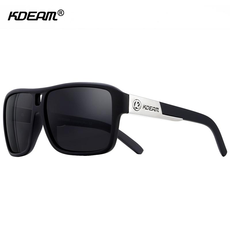 Young Guys Polarized Sunglasses Sport Brand Men Glasses Steampunk Goggles Impact-resistant Sunglass Women KDEAM CE