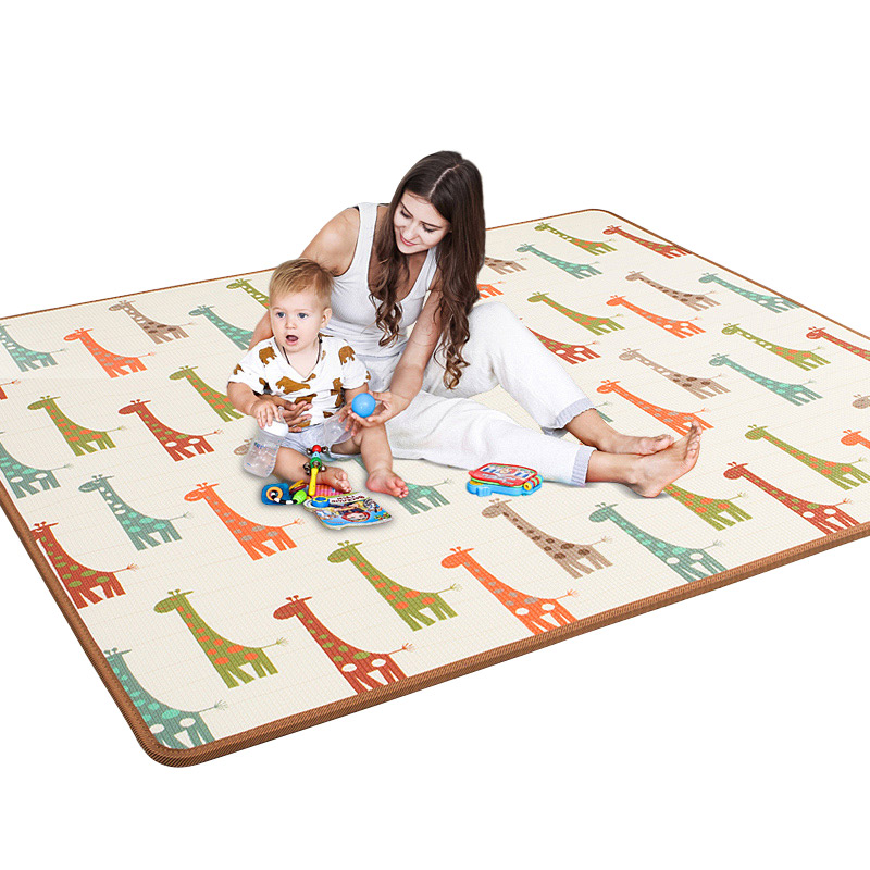 Infant Shining Baby Game Blanket XPE Baby Living Room Baby Crawling Pad Thickening Household Children Folding Pad Foam Mat infant shining 2018 baby crawling carpet mat rushed tapete infantil children game mat thickening tatami climbing pad babyshining