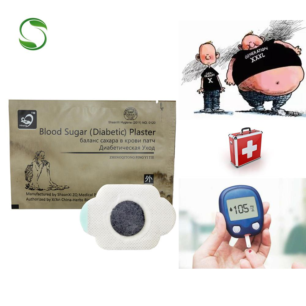 10pcs Medical Diabetic patch cure diabetes type 2 treatment chinese medicine insulins control blood sugar plaster