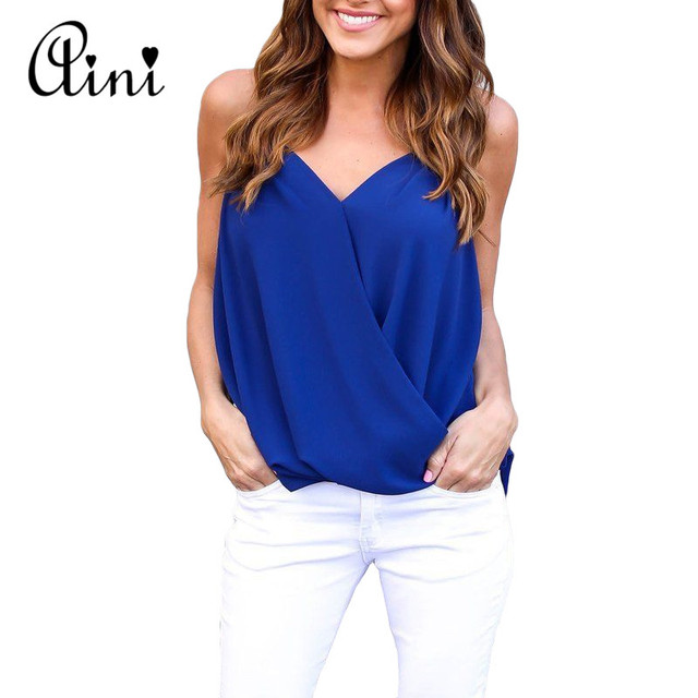96cd63d5df162 Plus Size 5XL Women s Blouse Chiffon Shirt Fashion Womens Tops and Blouses  V-neck Off Shoulder Top Blusa Feminina Mujer 2018