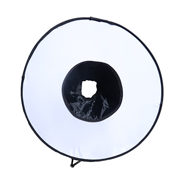 SHOOT 46cm Ring Softbox Can be foldable Speedlight Round Style Flash Light Soft Flash Light Diffuser puluz 45cm ring softbox speedlight round style flash light shoot soft box foldable soft flashlight diffuser for canon nikon sony