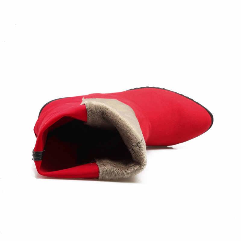 Oberschenkel Hohe Flache Stiefel Frauen Über das Knie Stiefel comfy Herbst Winter Faux Wildleder Zipper Stiefel Mode Schuhe Frau 2018 schwarz