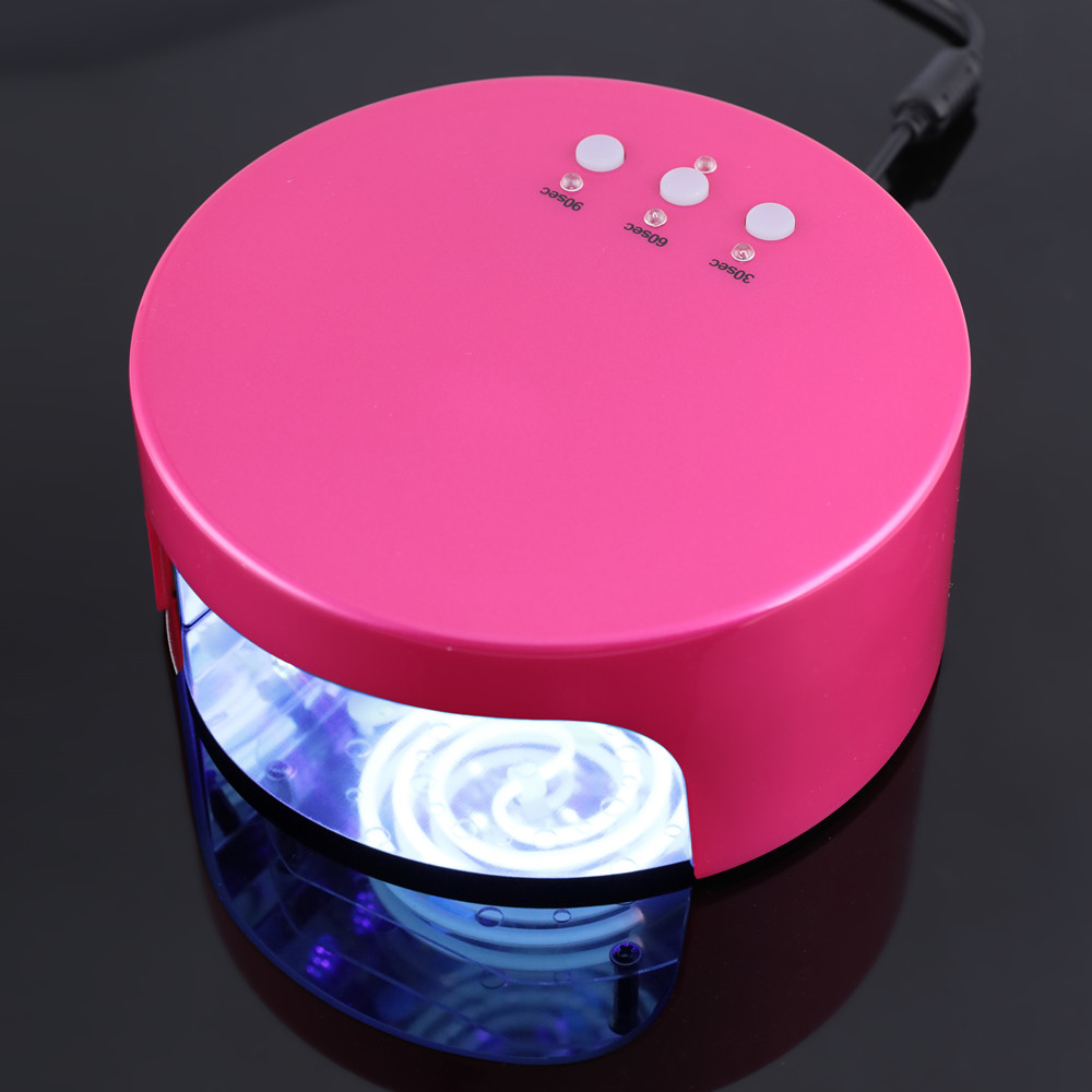 Professional 36W CCFL+LED UV Nail Lamp Light AC 110-220V Nail Dryer with Automatic Sensor Timer Setting Nail Polish Tools new professional dc 12v 2a 24w uv led nail lamp nail dryer unique design intelligent induction three setting buttons an adapter