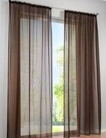 Wholesale 2013 New Arrivals German High Density Terylene Yarn Curtain 59 96 2PCS
