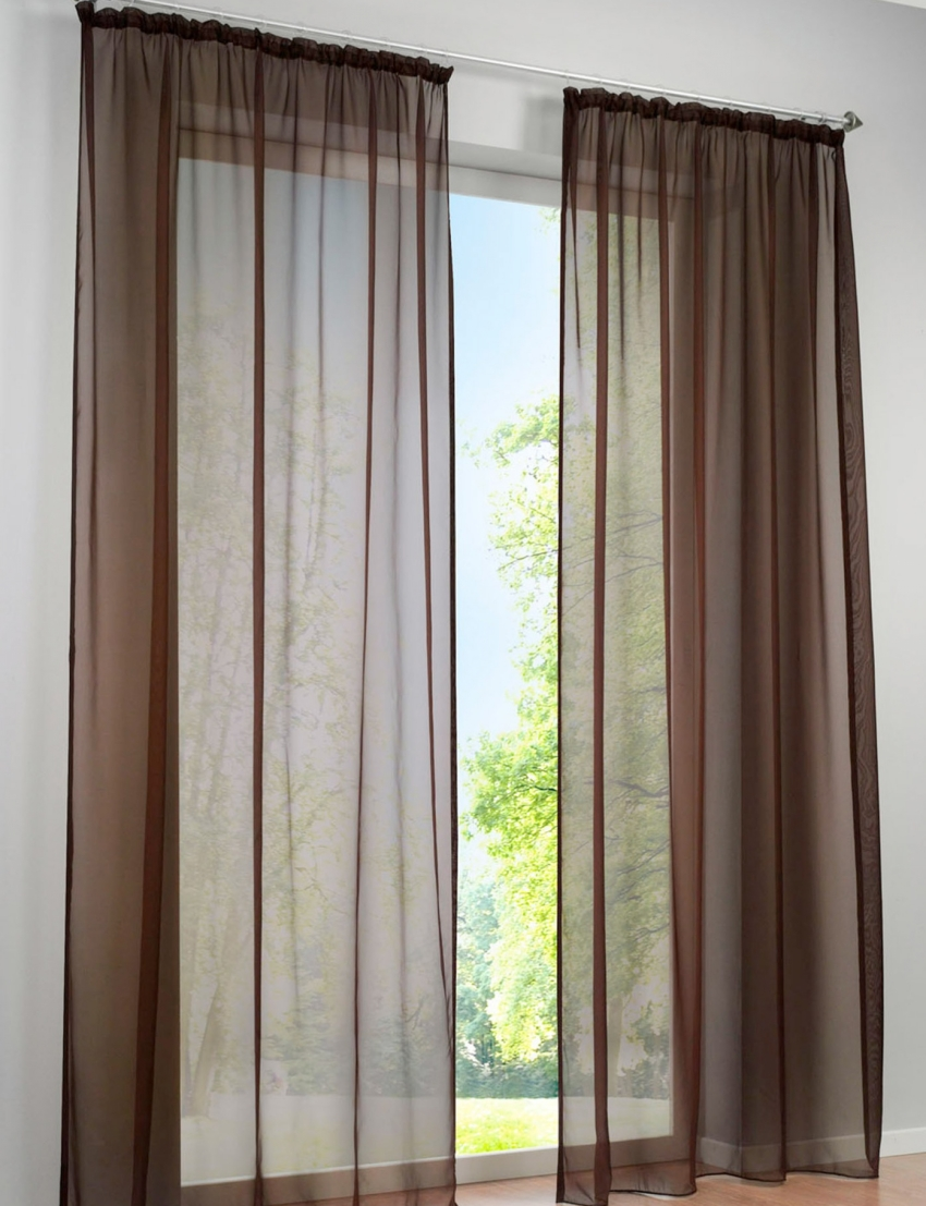 2pcs concise german high density terylene yarn window curtain good quality sheer panels in. Black Bedroom Furniture Sets. Home Design Ideas
