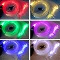 Plugue DA UE! Luzes de DIODO EMISSOR de luz De Fibra óptica Kit Teto Estrela 600 pcs 0.5mm 2 m de fibra óptica iluminação + Controle Remoto do motor
