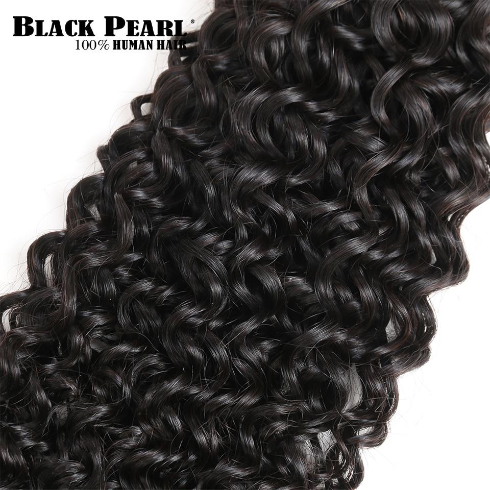 Black Pearl Pre-Colored Peruvian Hair Weave Bundles Mänskligt Hår 4 - Skönhet och hälsa - Foto 5