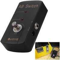 High quality True Bypass Design 9V Guitar ABY Selector A/B Switch Guitar Effect Pedal Signal diverter Amplifier Line Selector