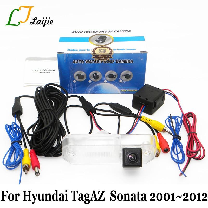 Laijie Авто Камера Для Hyundai TagAZ Sonata EF Facelift 2001 ~ 2012 / HD Широкоугольный объектив ПЗС ночного видения Автомобильная камера заднего вида