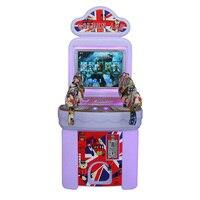 Chidren coin operated amusemen gun shooting targets game machine simulator for kids arcade Video game console equipment HD LCD