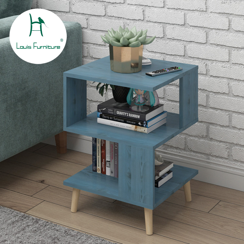 Louis Fashion Coffee Tables  Nordic Simple Modern Small Tea Table  Creative Square Small Dining  Economic Sofa  Grade(China)