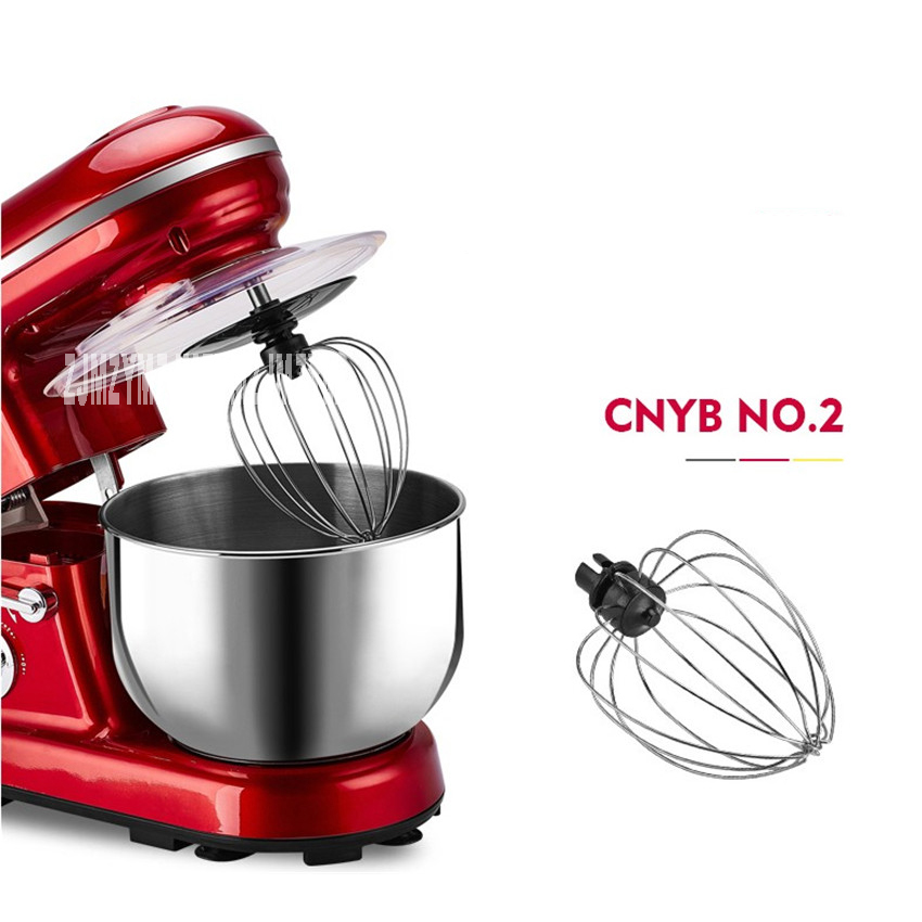 YB-108 5L household electric and noodle machine whisk cream machine mixer 5L large capacity exports to Germany аккумулятор yoobao yb 6014 10400mah green