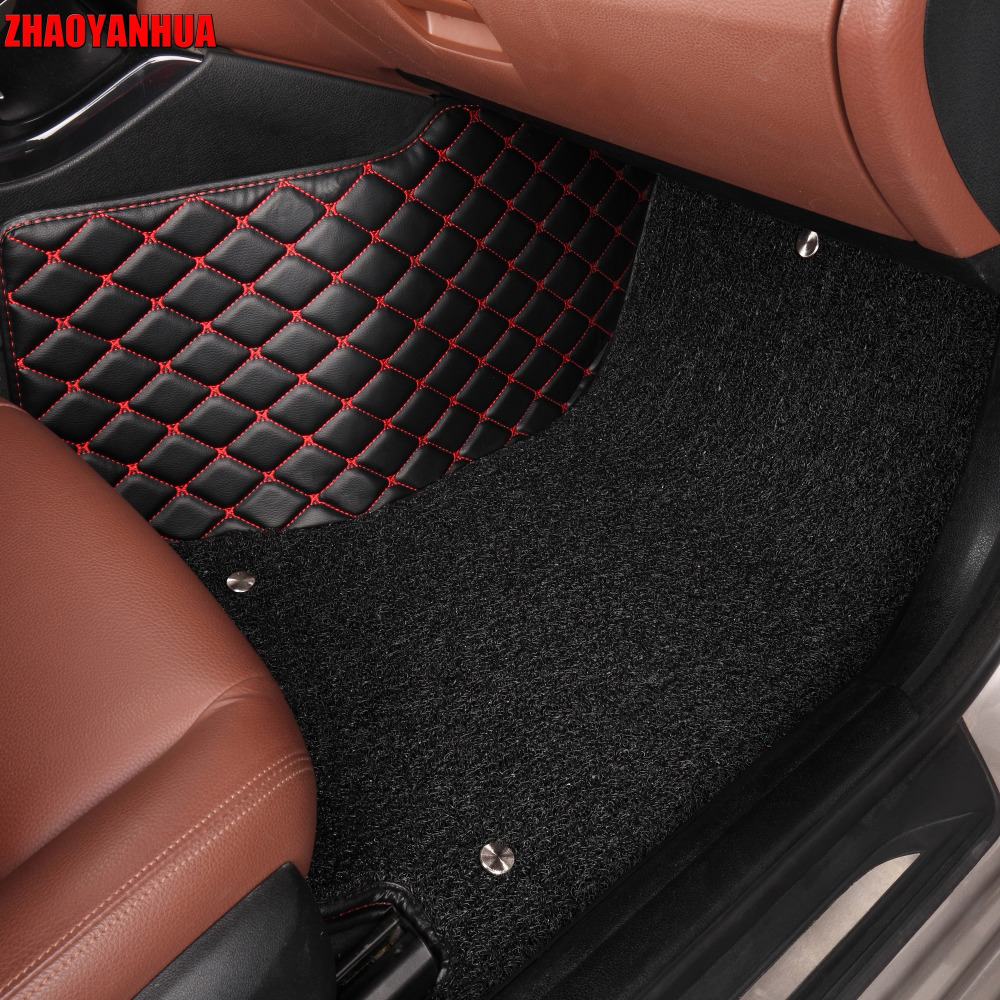 Us 97 93 59 Off Zhaoyanhua Special Car Floor Mats For Mazda 3 6 2 Mx 5 Cx 5 All Weather Waterproof Car Styling Leather Anti Slip Carpet Liners In