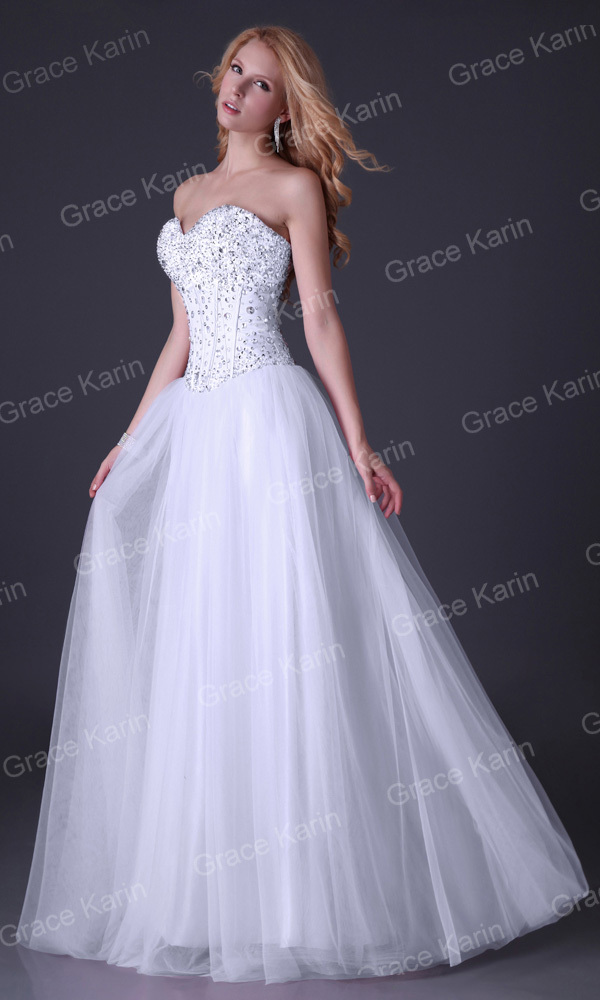 Long Evening Dresses Corset-style elegant Prom dinner Party Formal ...