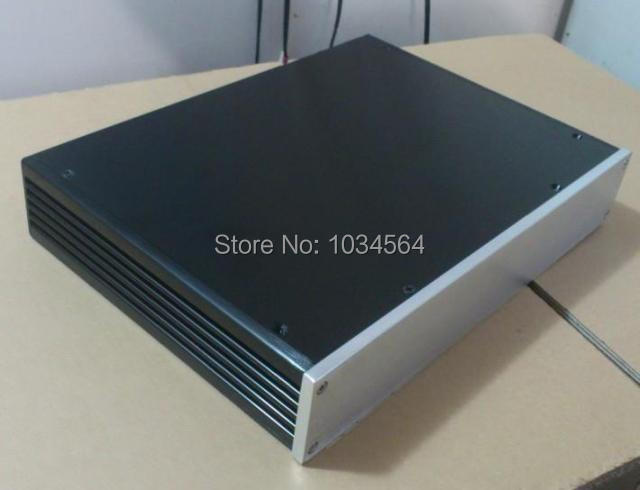 ФОТО FULL aluminum chassis case enclosure for preamp amplifier/DAC 340X62X248mm