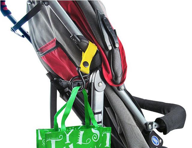 4pcs Plastic Magic Baby Stroller Hooks Baby Stroller Accessories Hook Pram Pushchair Hanger  Hanging Pram Random Color