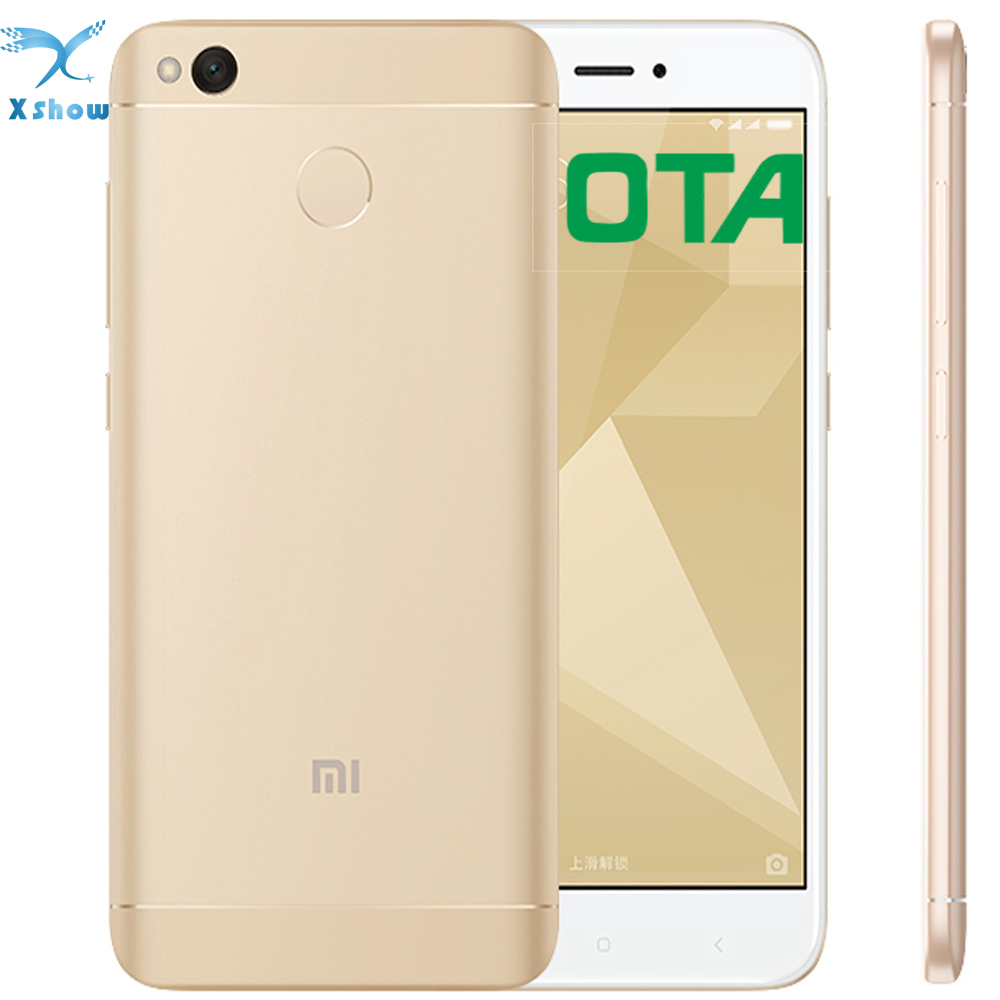 "bilder für FreeshippingOriginal Xiaomi Redmi 4X 4100 mAhBattery Fingerprint ID Snapdragon 435 Octa-core 5,0 ""720 P 13MP kamera-handy"