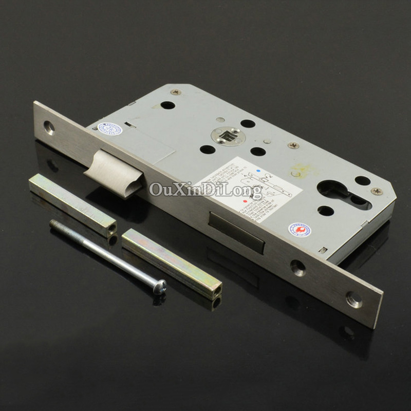 Security Door 7260 European Mortise Door Lock Lockbody Anti-theft Door Lock Body Mute Harping Oblique Tongue Handle Lock body giudi 7260 crf q 53