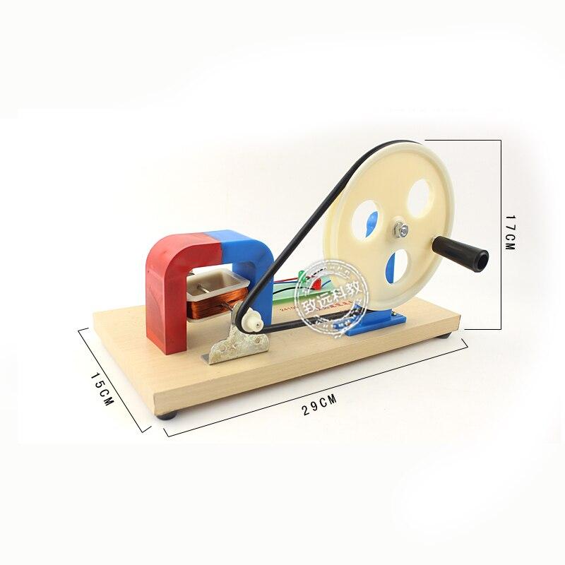 Tout nouveau générateur à courant alternatif à courant continu instrument d'enseignement lycée physique expérience Science enseignement expérience