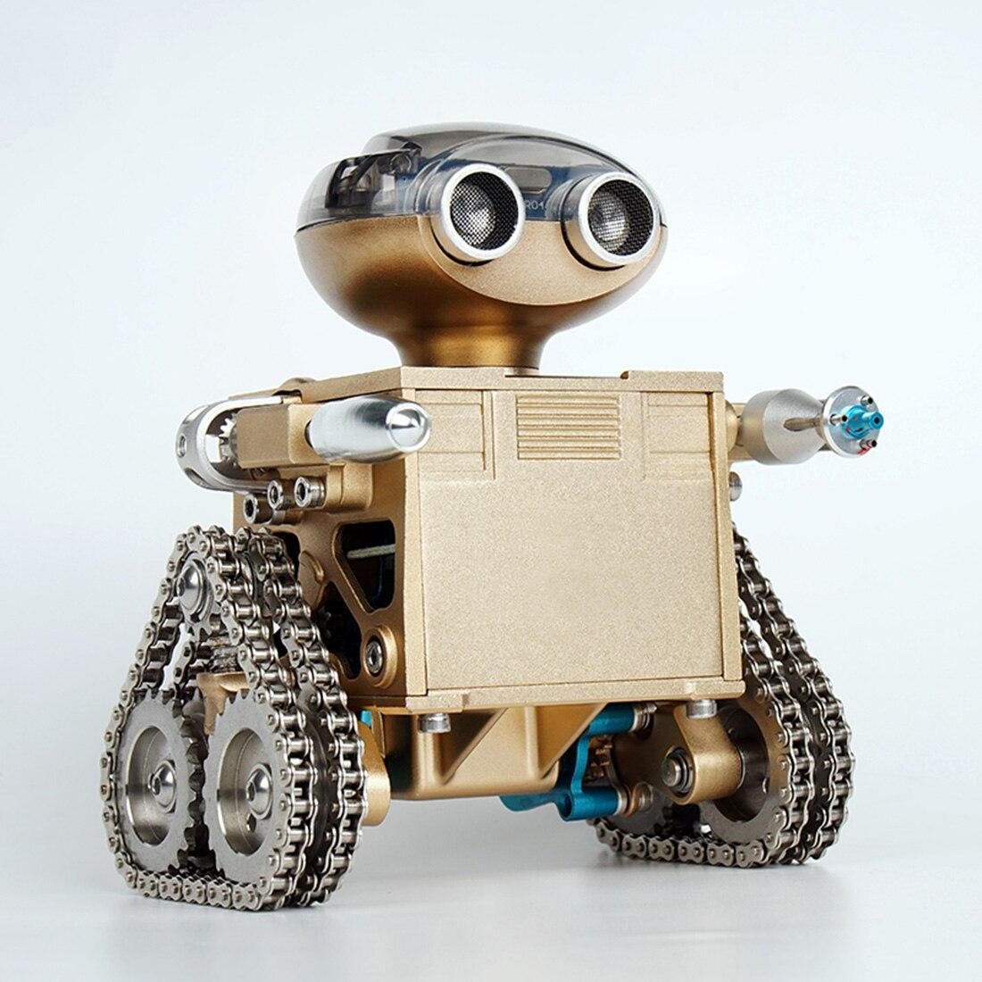 Bluetooth металлический Электрический двигатель управление интеллектуальный пульт дистанционного управления робот сборка модели игрушки DIY Р