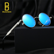 2017 Round Polarized Men Sunglasses Women Brand Designer Ladies Sun Glasses Oculos De Sol Feminino Redondo Steampunk Goggles