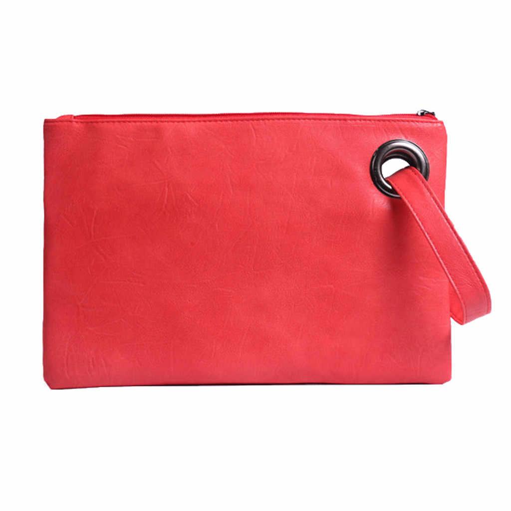 Femmes dame sacs à Main mode pochette fermeture éclair enveloppe Sac à Main Sac à Main soirée Sac de fête Sac A Main livraison directe #25