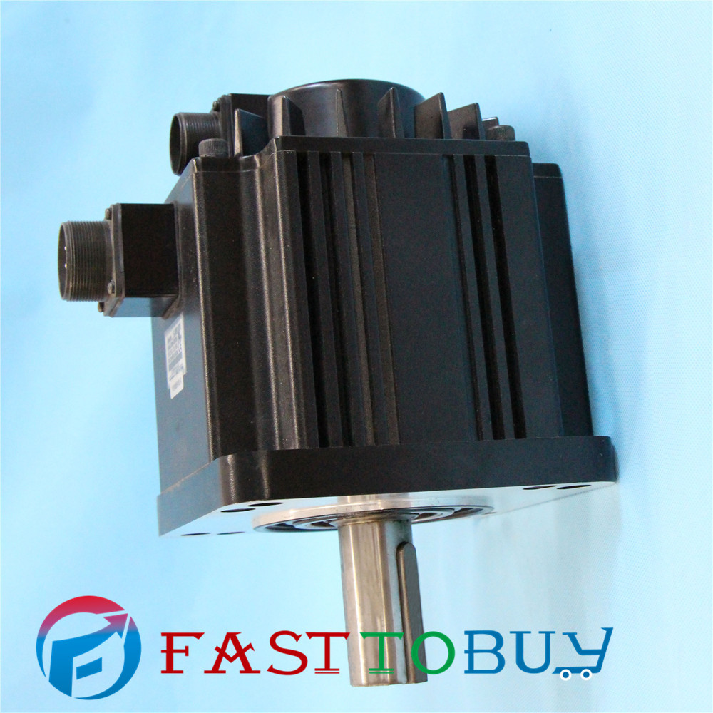 2KW CNC Delta AC Servo Motor 400V 9.55NM 2000r/min 130mm Keyway brake new original hf sp152 1 5kw 2000r min ac servo motor