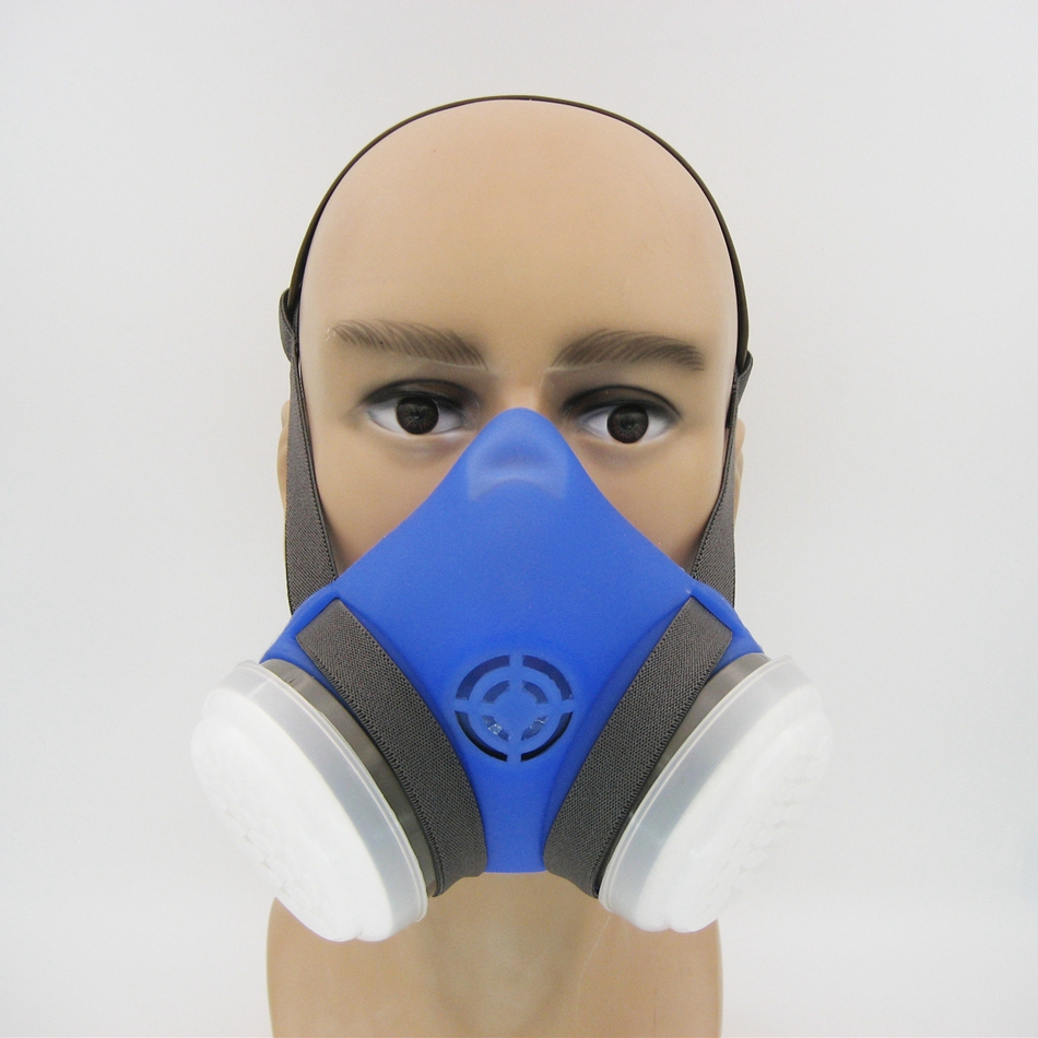 Silicone Dust Mask Anti-particle Respirator for Industrial Coal Dust Paint Decoration Chemical Work High Quality