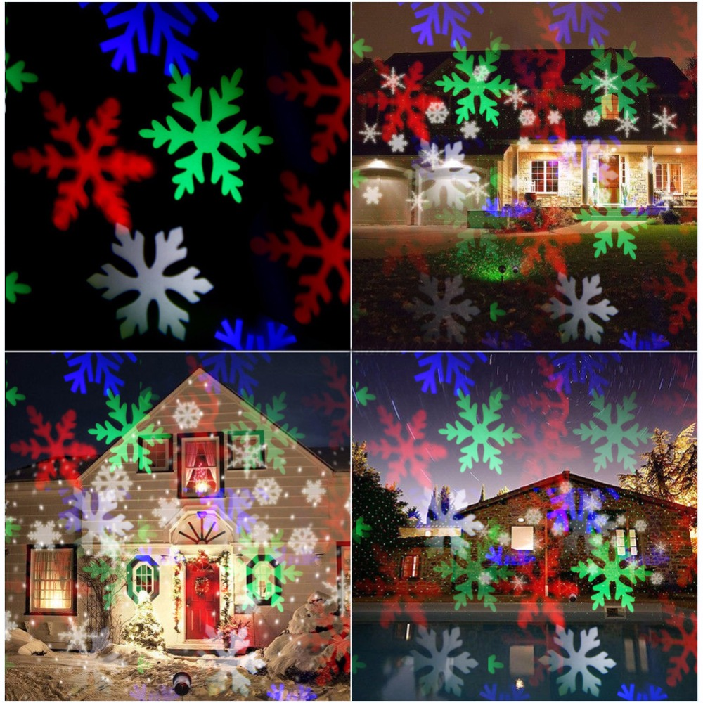 aliexpress com buy snowflake christmas lights moving sparkling - Sparkling Christmas Lights