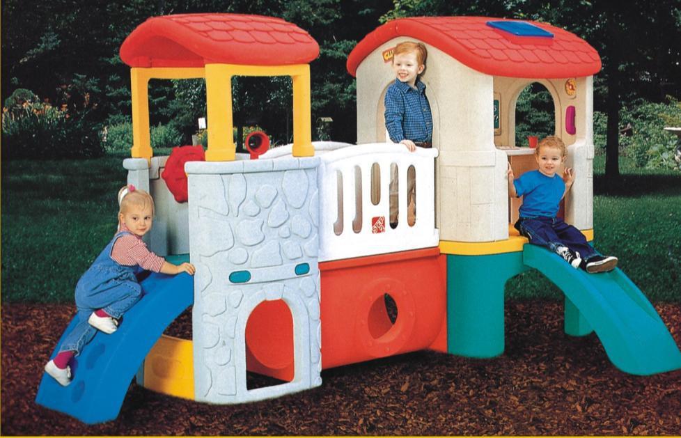 Bebé combinado diapositiva del patio interior niños playhouse plástico parque infantil al aire libre de diapositivas.jpg