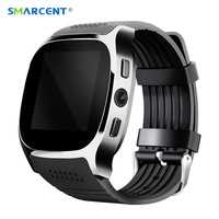 SMARCENT T8 Bluetooth Smart Watches With Camera Support SIM TF Card Sync Call Message Smartwatch WristWatch