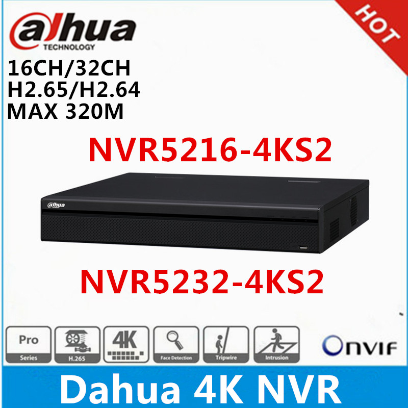 Dahua Neutral Version NVR4108-8P-4KS2 8Ch 8PoE 4K/&H.265 Network Video Recorder