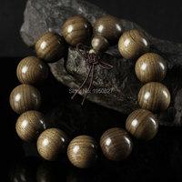 Fragancia Natural Africano Granos de Rezo del Sándalo Rojo Pulsera Collar de La Oración Buda Meditación Oración Joyería Del Grano