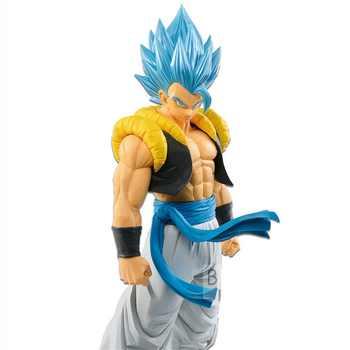 Tronzo Original Banpresto Action Figure Dragon Ball Super GROS Grandista ROS Gogeta Figure PVC Action Model Gogeta SSJ Figural