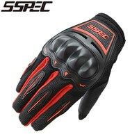 SSPEC Motorcycle Gloves Motorbike Enduro Dirt Bike Riding Gloves Moto Breathable Motorcross Off Road Racing Gloves