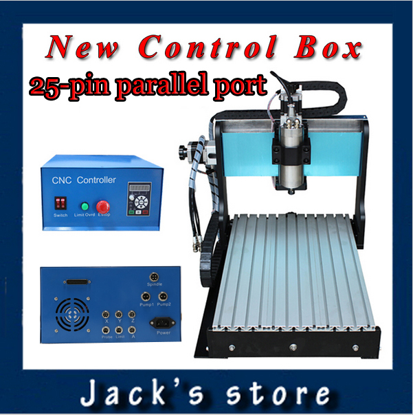25-pin parallel port! 3040Z-S++ ,CNC3040 800W Spindle +1.5kw VFD CNC Router water-cooling   Metal engraving machiney cnc machine usb port 3020z s cnc3020 800w spindle 1 5kw vfd cnc router water cooling metal engraving machiney cnc machine cnc 3020