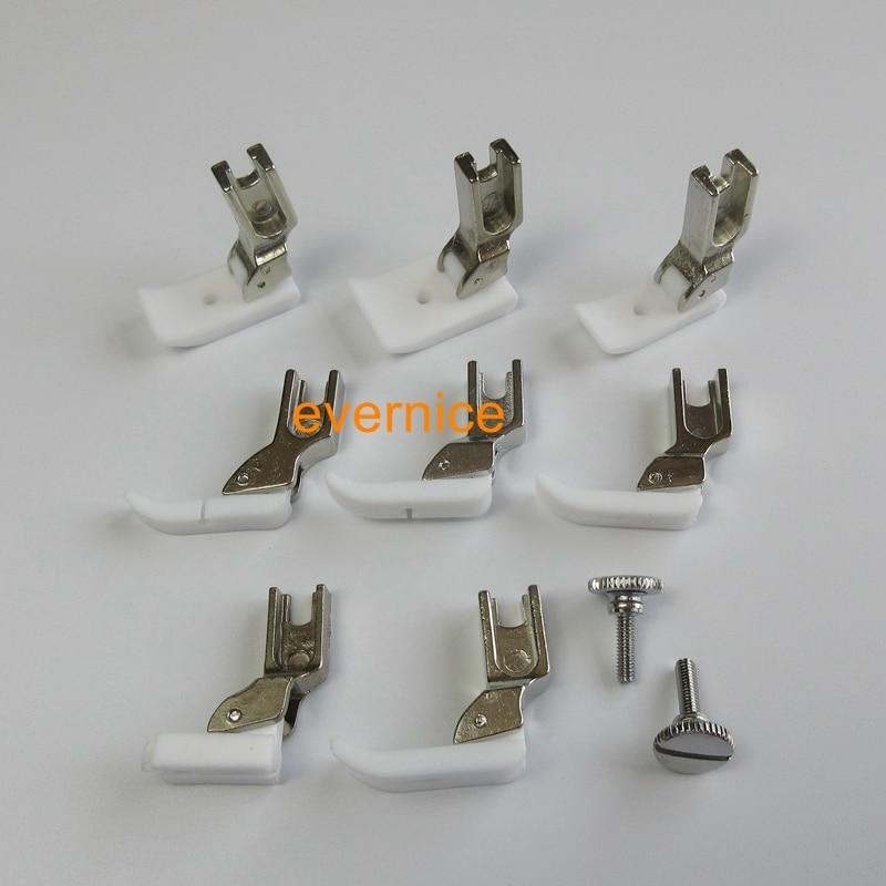 9 ZIPPER FEET FOOT for BROTHER B705 B707 B715 B716 B735 B737 PQ1300 PQ1500