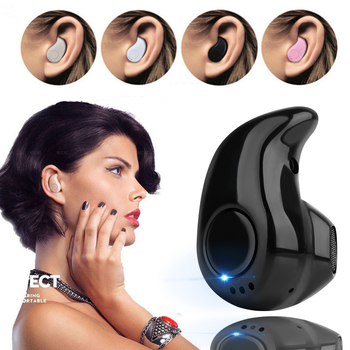 S530 Mini Bluetooth Wireless Earphone for Intex Aqua M5 Earbuds Headsets Mic Earphones Fone De Ouvido