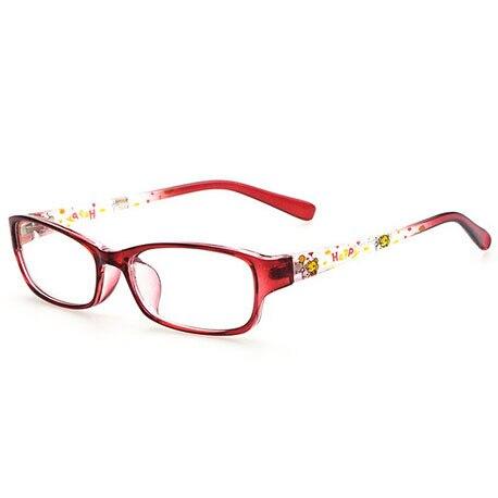 eb66cb5e49 Clear Lens Child Eyeglasses Frame Myopia Kids Prescription Reading Glasses  Color Patchwork Happy Cartoon Bear Print Transparent-in Movie   TV costumes  from ...
