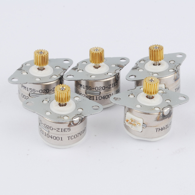 5 stücke 4 draht 2 phase DC Micro schrittmotor schritt winkel 18 ...