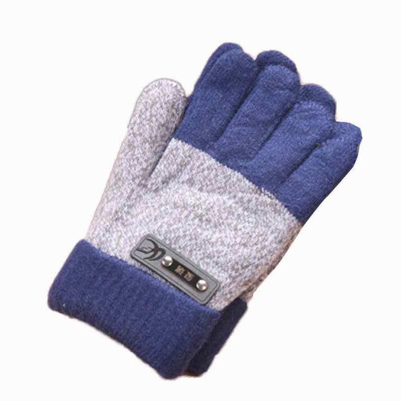 Infant Baby Girls Boys Gift Cute Winter Warmer Gloves Thicken Fleece Full Finger Gloves D40