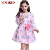 2016 Autumn New European And American Children S Clothing Girls Dress Princess Dress Children Long Sleeve