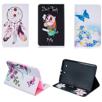 BF Luxury Full Protection PU Leather With Soft TPU Back Case For Samsung Galaxy Tab E