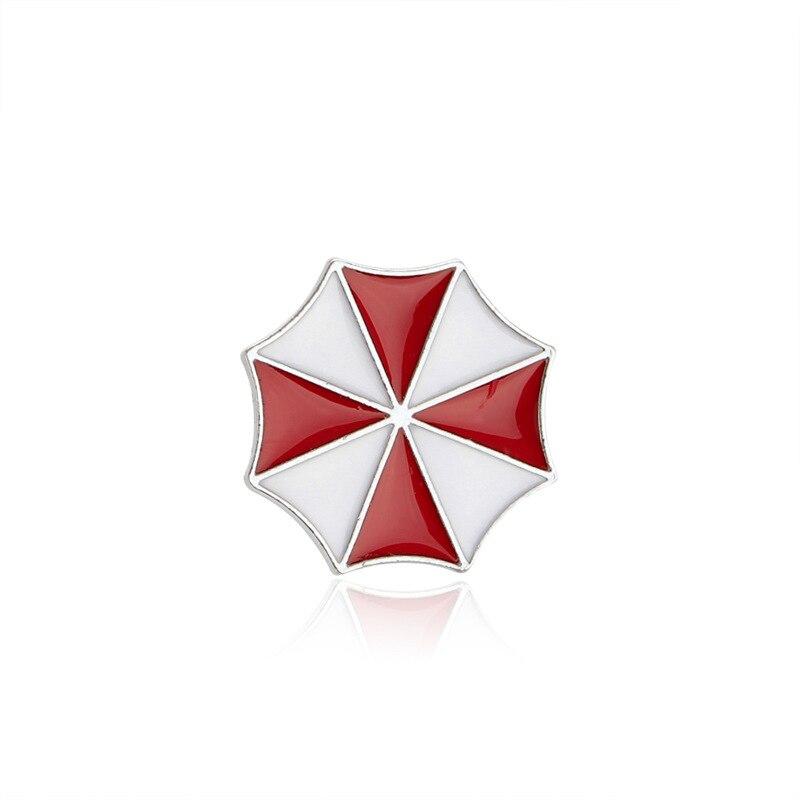 Новый Resident Evil Umbrella логотип качество эмали Булавки знак
