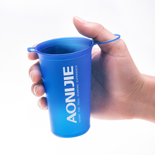 AONIJIE 200ml Soft Foldable Water Cup