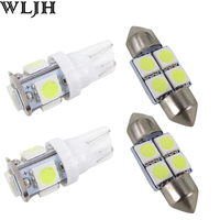 6x White Led 31mm DE3175 T10 W5W Light Bulb For Dome Map Licence Plate Light Package