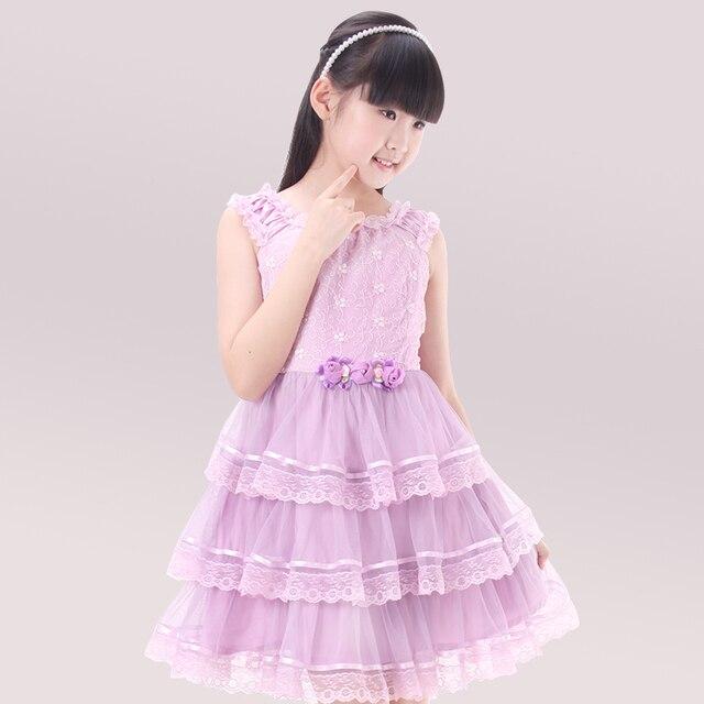 Verano vestidos lindos dulces para adolescentes niñas talla 10 12 14 ...