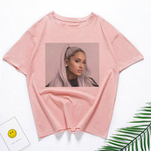 Ariana Grande Print Vogue Casual T-shirt Women 2019New Short